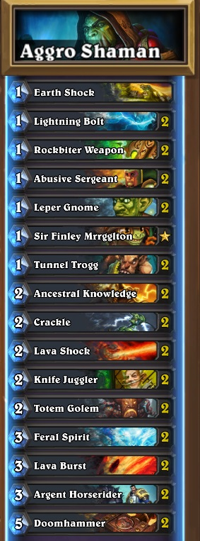 Aggro_Shaman_Common_Build