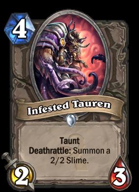 Infested Tauren